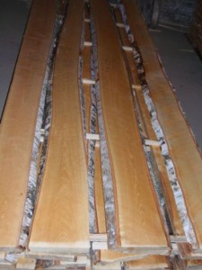unedged birch sawn timber AB grade
